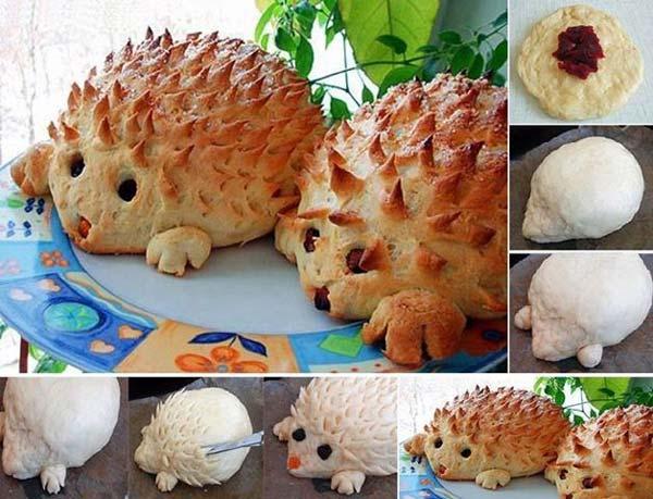 Bread - مجسمه سازی با خمیر نان