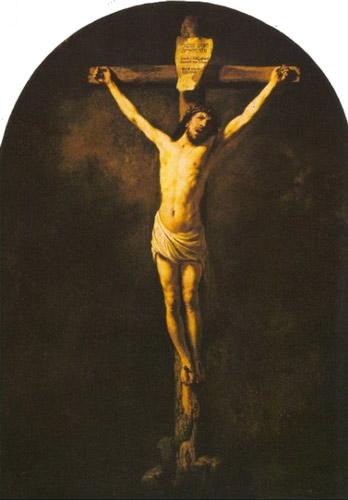 Crucifixion rambrant - رامبراند ، هنرمند نقاش
