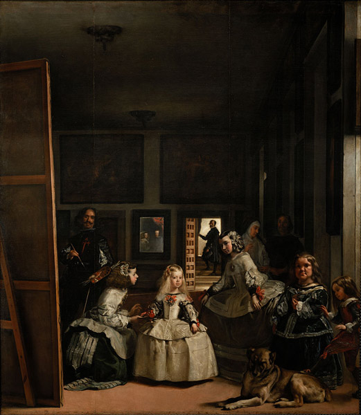 Las Meninas Diego Velázquez - رامبراند ، هنرمند نقاش