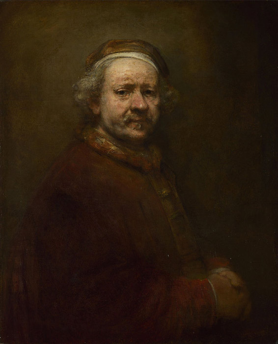 Rembrandt Self Portrait at the Age of 63 - رامبراند ، هنرمند نقاش
