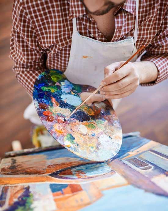 art painting - مزایای هنر و زندگی هنری