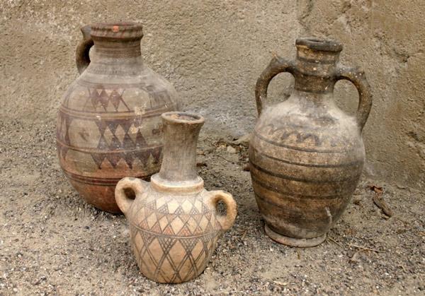 excavation hamedanpottery - سفالگری در لالجین
