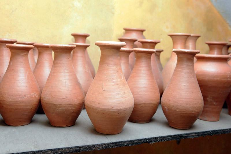 lalejin historical pottery 1 - سفالگری در لالجین