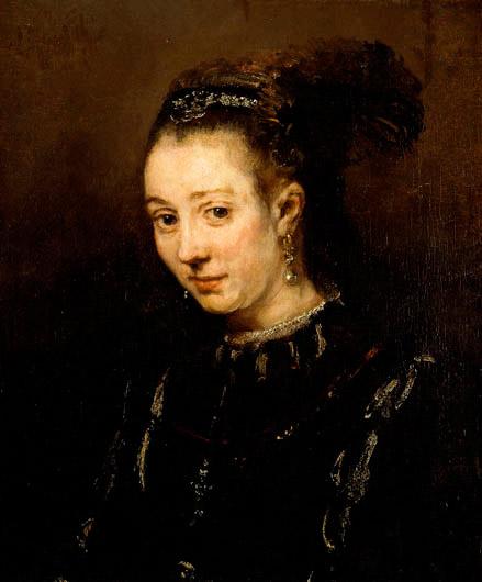 magdalena by rambrandt - رامبراند ، هنرمند نقاش