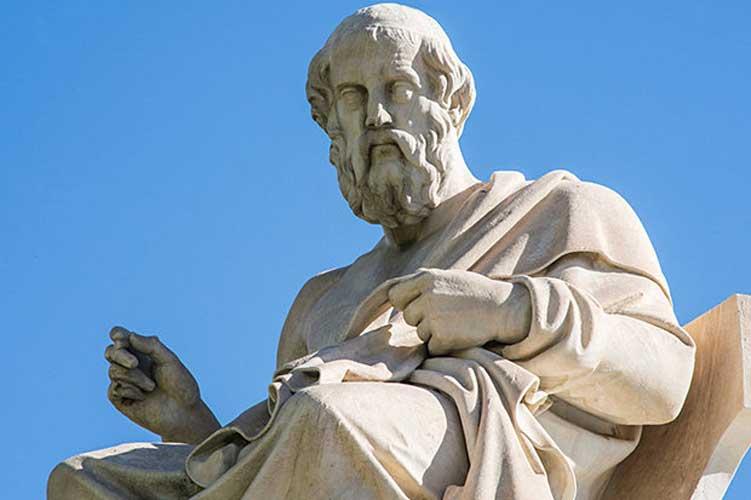 plato statue greek philosophy - سیر تحول مفهوم فلسفه ی زیبایی از یونان باستان تا عصر روشنگری