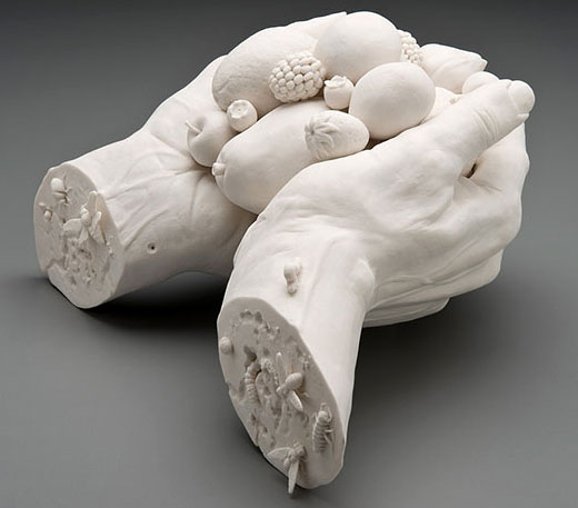porcelain sculpture - مجسمه سازی با خمیر چینی