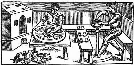 potter's wheels - تاریخچه سفالگری در جهان