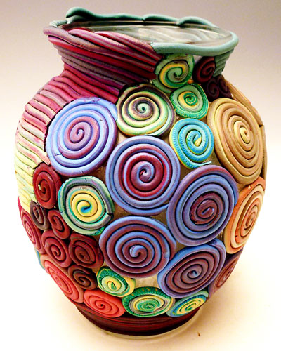 pottery 8 - سفالگری بدون چرخ
