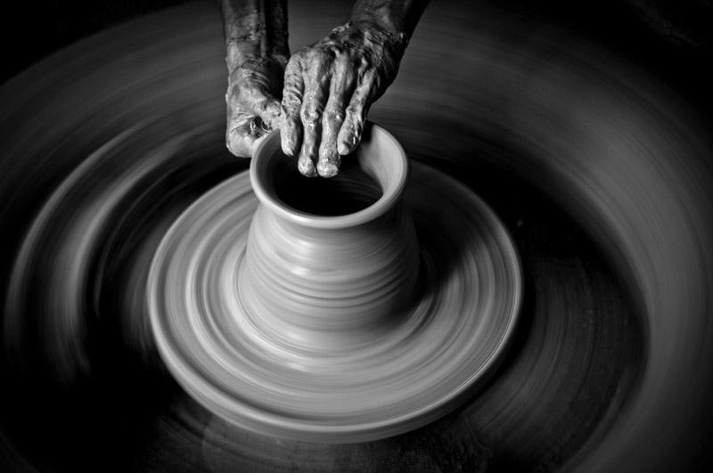 pottery lalejin - سفالگری در لالجین