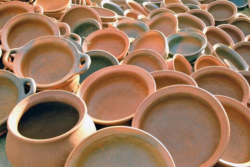 pottery of lalejin 1 - سفالگری در لالجین