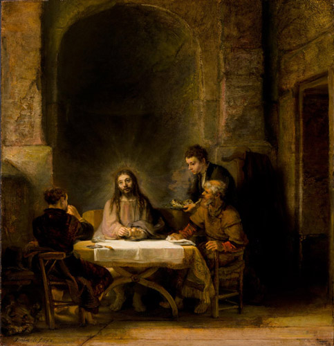 rambrandt jesus of emous 1 - رامبراند ، هنرمند نقاش
