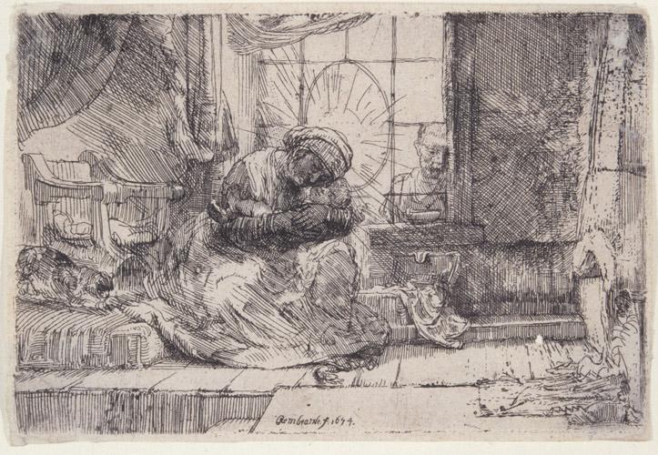 rambrant print 1 - رامبراند ، هنرمند نقاش