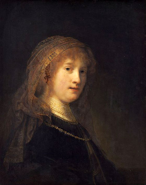 rembrandt saskia - رامبراند ، هنرمند نقاش