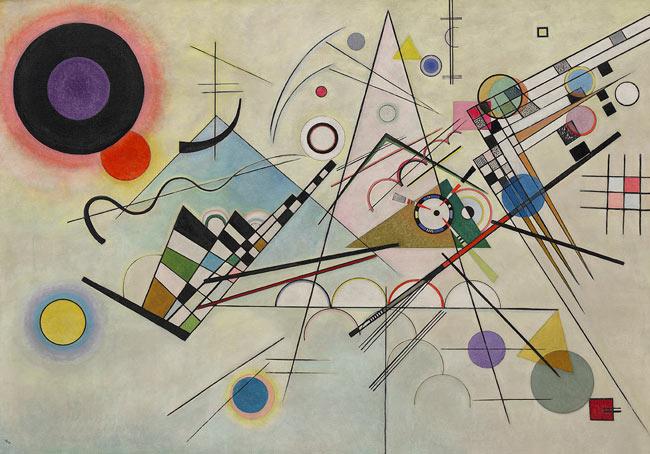 Kandinsky abstract 1 - آموزش هنر انتزاعی یا آبستره