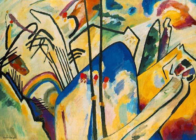 Vassily Kandinsky 2 - آموزش هنر انتزاعی یا آبستره