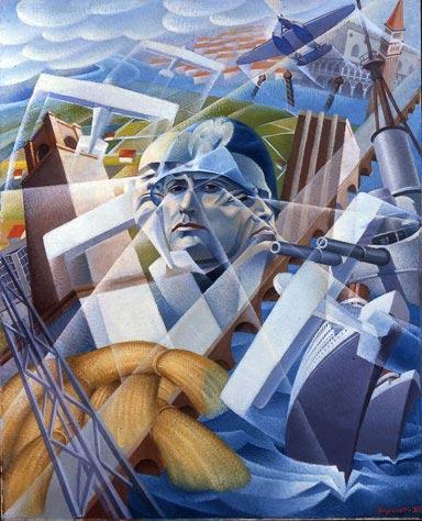 futurism 1 - آموزش نقاشی فوتوریسم
