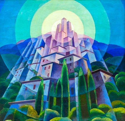 futurism art - آموزش نقاشی فوتوریسم
