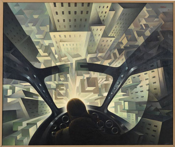 futurism paint - آموزش نقاشی فوتوریسم