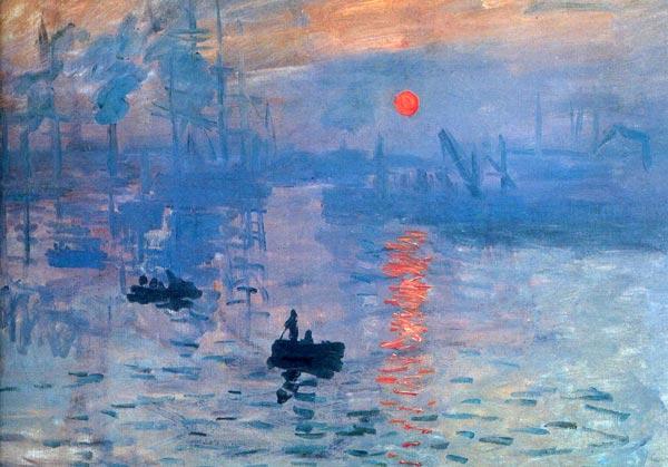 impression sunrise 1 - آموزش نقاشی امپرسیونیسم