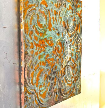 patina sculpture5 364x375 - پتینه کاری روی مجسمه