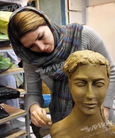 sculpture material - مجسمه چیست ؟