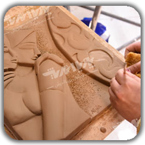 naghsh bajaste chist - مجسمه سازی ، آموزش مجسمه سازی ، آموزشگاه مجسمه سازی
