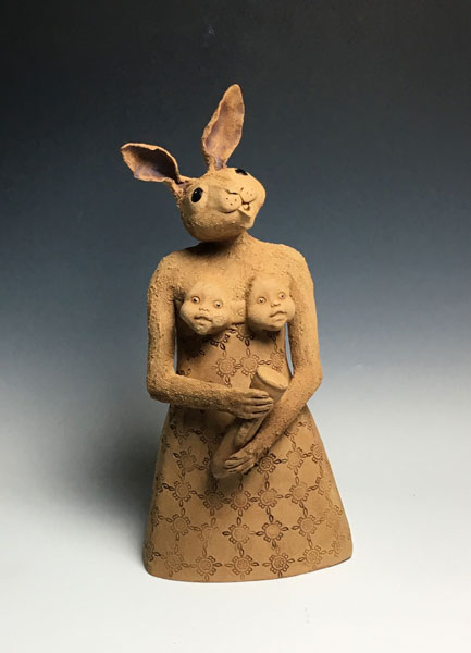 clay satatus - مجسمه های سرامیکی