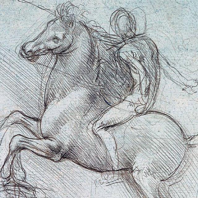 leonardo da vinci 3 - عناصر بصری در هنرهای تجسمی