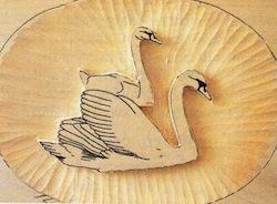 swan carving 3 - آموزش حکاکی روی چوب ، حکاکی قو