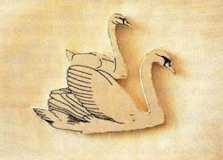swan carving 6 - آموزش حکاکی روی چوب ، حکاکی قو