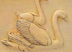 swan crav 1 - آموزش حکاکی روی چوب ، حکاکی قو