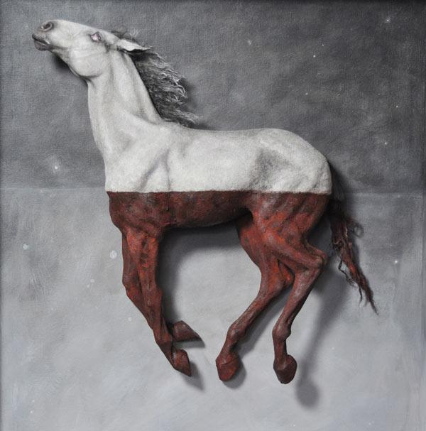 step11 pic2 polymerhorse - آموزش گام به گام ساخت مجسه پلیمری اسب