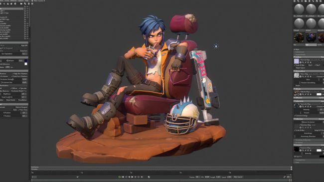 step23 video game character zbrush - چگونه یک شخصیت بازی ویدئویی را در ZBrush خلق کنیم.