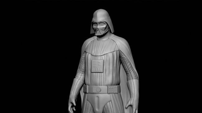 step8 armour - مدل سازی darth vader ( شخصیت فیلم جنگ ستارگان ) در زیبراش