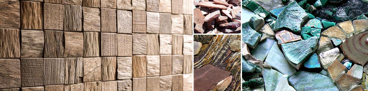 Mosaic Materials 5 - متریال های مورد استفاده در معرق کاشی