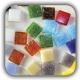 Mosaic Materials shakhes 80x80 - معرق کاشی روی تور