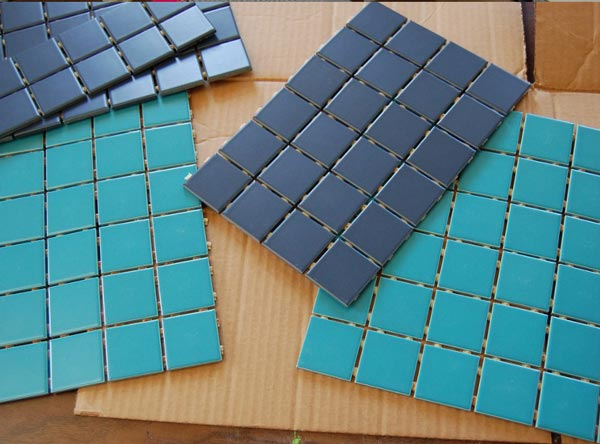 indirect mosaic 5 - روش غیرمستقیم ساخت کاشی شکسته