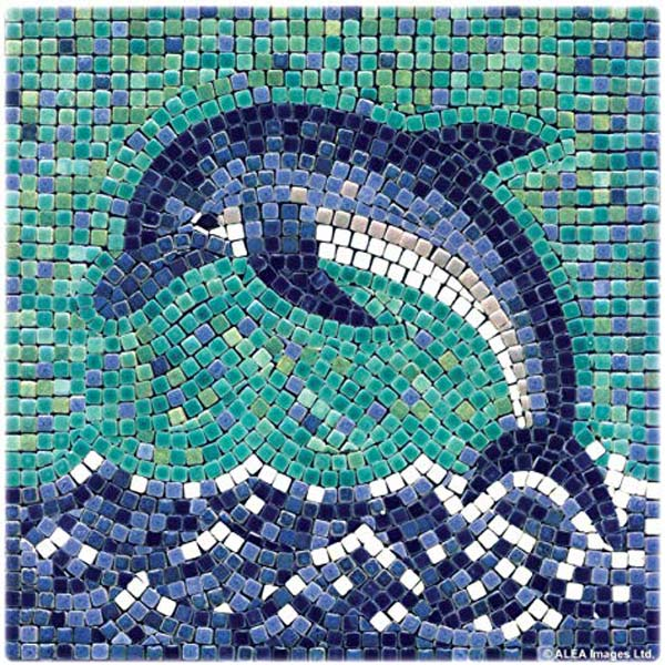 mosaic 1 - روش غیرمستقیم ساخت کاشی شکسته