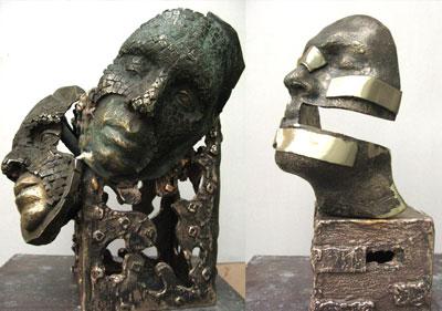 rikhtegari boronze class mojasame - مجسمه سازی ، آموزش مجسمه سازی ، آموزشگاه مجسمه سازی