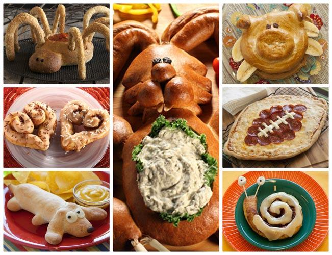 Bread Dough Collage 1 - مجسمه سازی با خمیر نان