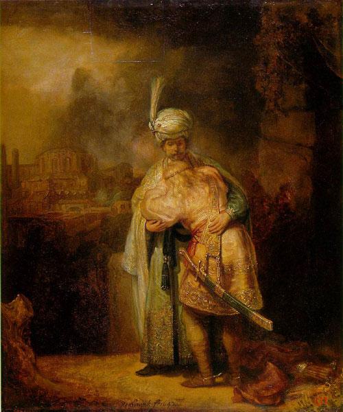David and Absalom - رامبراند ، هنرمند نقاش