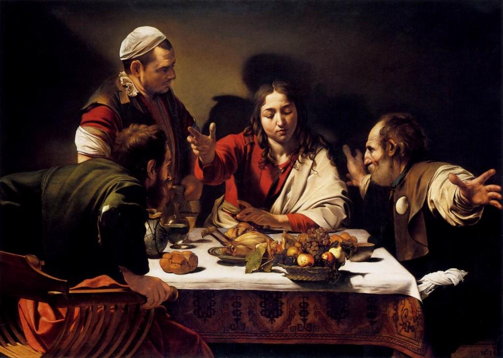 Emmaus rambrant - رامبراند ، هنرمند نقاش