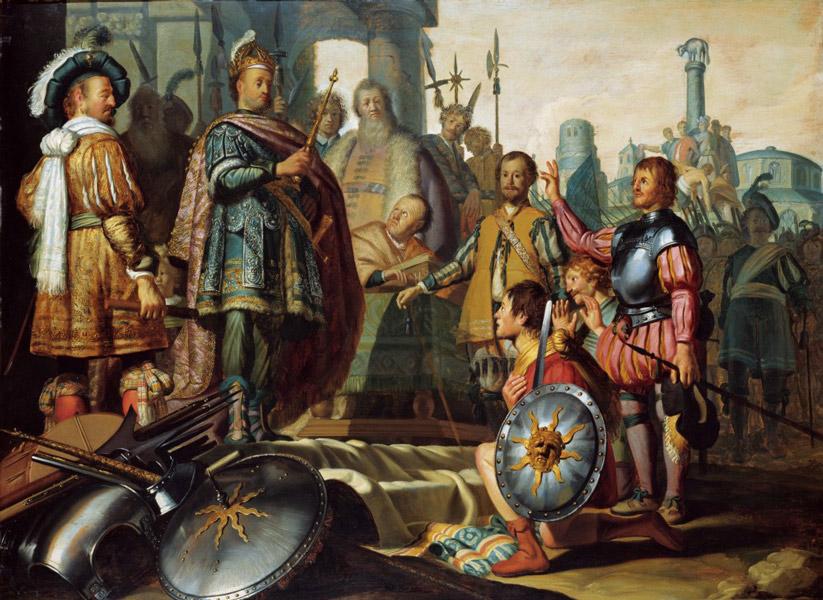 Palamedes   Agamemnon rambrant - رامبراند ، هنرمند نقاش