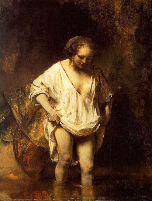Rembrandt Hendrickje - رامبراند ، هنرمند نقاش