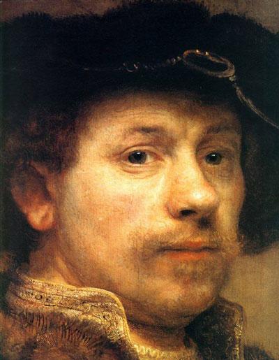 Rembrandt Self Portrait - رامبراند ، هنرمند نقاش