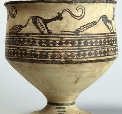 anicient pottery 1 400x375 - تاریخچه سفالگری در ایران