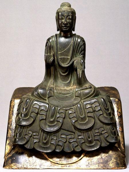 buddha asuka period 1 - هنر و تمدن شرق ( ژاپن )