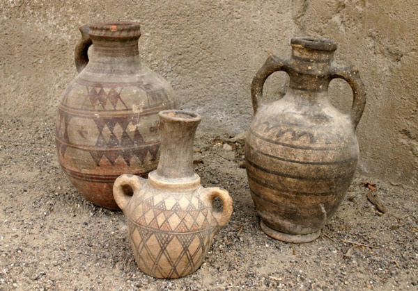 excavation hamedanpottery - سفالگری در لالجین