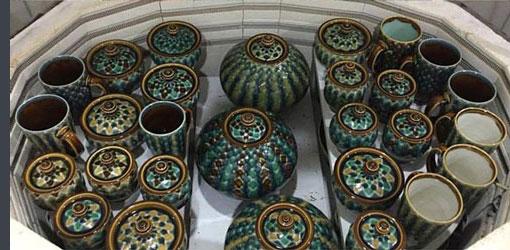 glaze potterry 1 - مراحل سفالگری