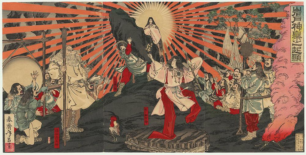 gods of japan - هنر و تمدن شرق ( ژاپن )